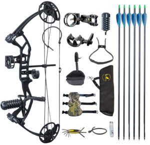 Byjccar Child Compound Hunting Bow Kit