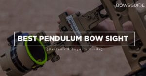 Best Pendulum Bow Sight