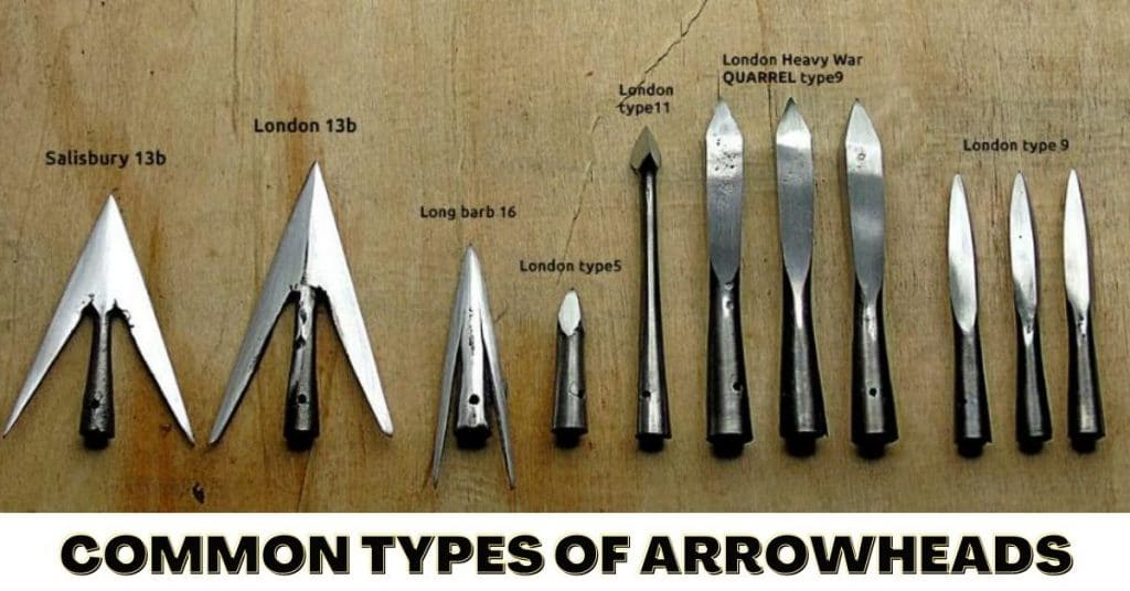 Common Types of Arrowheads